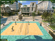 3D volleyball game in Brasil