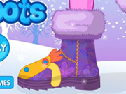 Dress up my snow Boots