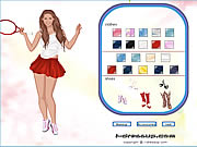 Kournikova dress-up game