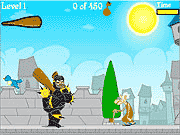 black knight fighting game