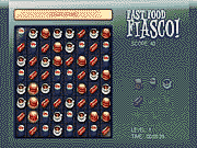 Paixnidi fast food fiasco match-3 game