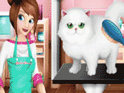 pet beauty salon game
