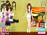 Summer Looks dress-up paixnidia