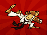 karate monkey paixnidi
