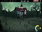 Play zombies in the house game